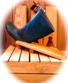Handcrafted Solid Oak Boot Jack